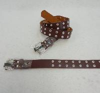 Belt--Wide Brown [Small Holes] All Sizes